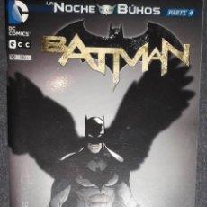 Comics : BATMAN Nº 10 LA NOCHE DE LOS BÚHOS PARTE 4 EDITORIAL ECC SCOTT SNYDER GREG CAPULLO. Lote 73559711