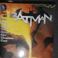 Comics : BATMAN Nº 21 ORIGEN EDITORIAL ECC SCOTT SNYDER GREG CAPULLO. Lote 73563123