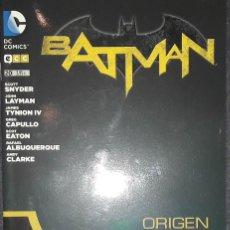 Comics : BATMAN Nº 20 ORIGEN EDITORIAL ECC SCOTT SNYDER GREG CAPULLO. Lote 73563259