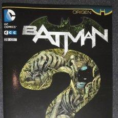 Comics : BATMAN Nº 29 ORIGEN EDITORIAL ECC SCOTT SNYDER GREG CAPULLO. Lote 73568063