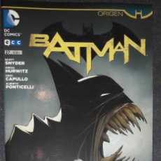 Cómics: BATMAN Nº 27 ORIGEN EDITORIAL ECC SCOTT SNYDER GREG CAPULLO. Lote 73568191