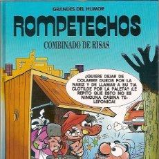 Cómics: 5 GRANDES DEL HUMOR ROMPETECHOS COMBINADO DE RISAS EL PERIODICO. Lote 73605339