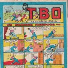 Cómics: 4 COMICS TEBEOS, TIO VIVO Nº 640, PULGARCITO Nº 2178, DDT Nº101, TBO Nº 2443.. Lote 73680219