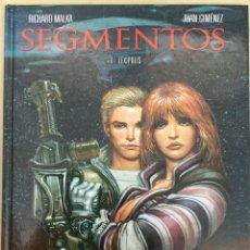 Cómics: SEGMENTOS 1. LEXÍPOLIS - RICHARD MALKA, JUAN GIMÉNEZ - GLÉNAT. Lote 73768729