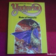 Cómics: YUGURTA RETO AL IMPERIO ( HERMANN VERNAL ) ¡MUY BUEN ESTADO! DISTRINOVEL 1981. Lote 74027139