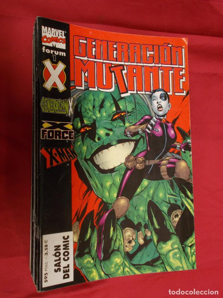 GENERACION MUTANTE. COLECCION COMPLETA. DEL Nº 1 AL Nº 18. FORUM. (Tebeos y Comics - Comics Pequeños Lotes de Conjunto)