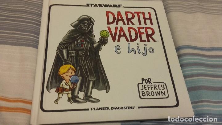 STAR WARS DARTH VADER E HIJO POR JAFFREY BROWN - PLANETA AGOSTINI - CARTONÉ 72 PÁG. (Tebeos y Comics - Comics otras Editoriales Actuales)