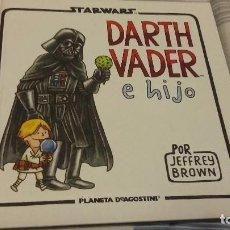 Cómics: STAR WARS DARTH VADER E HIJO POR JAFFREY BROWN - PLANETA AGOSTINI - CARTONÉ 72 PÁG.. Lote 74199287