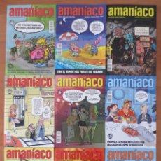 Cómics: AMANIACO CASI COMPLETA. Lote 74242103