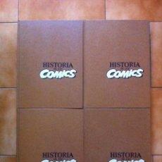 Cómics: HISTORIA DE LOS COMICS - COLECCION COMPLETA - 4 TOMOS - EDICION DE LUJO - TOUTAIN EDITOR. Lote 155995252