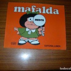 Cómics: MAFALDA INEDITA EDITA LUMEN . Lote 74569591