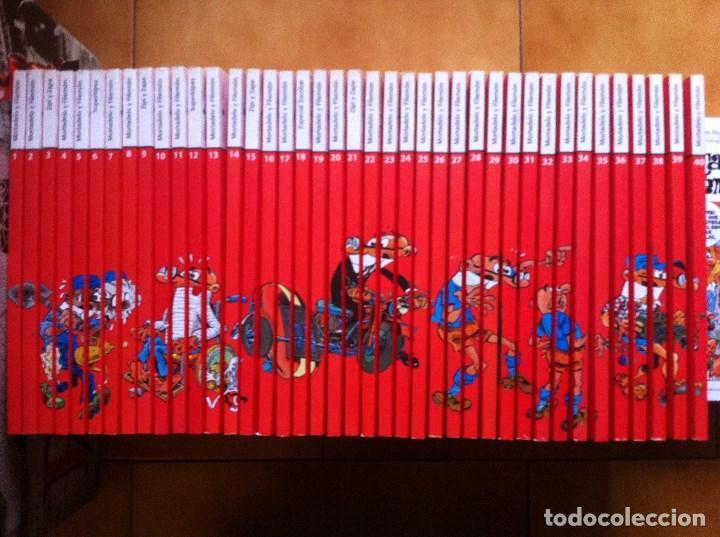 LO MEJOR DEL COMIC ESPAÑOL, COMPLETA EN 40 TOMOS, MORTADELO Y FILEMON ZIPI ZAPE SUPERLOPEZ EL MUNDO (Tebeos y Comics - Comics Colecciones y Lotes Avanzados)