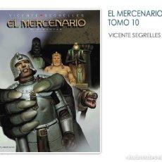 Cómics: EL MERCENARIO VOL. 10 - GIGANTES V. SEGRELLES PONENT MON. Lote 74986979