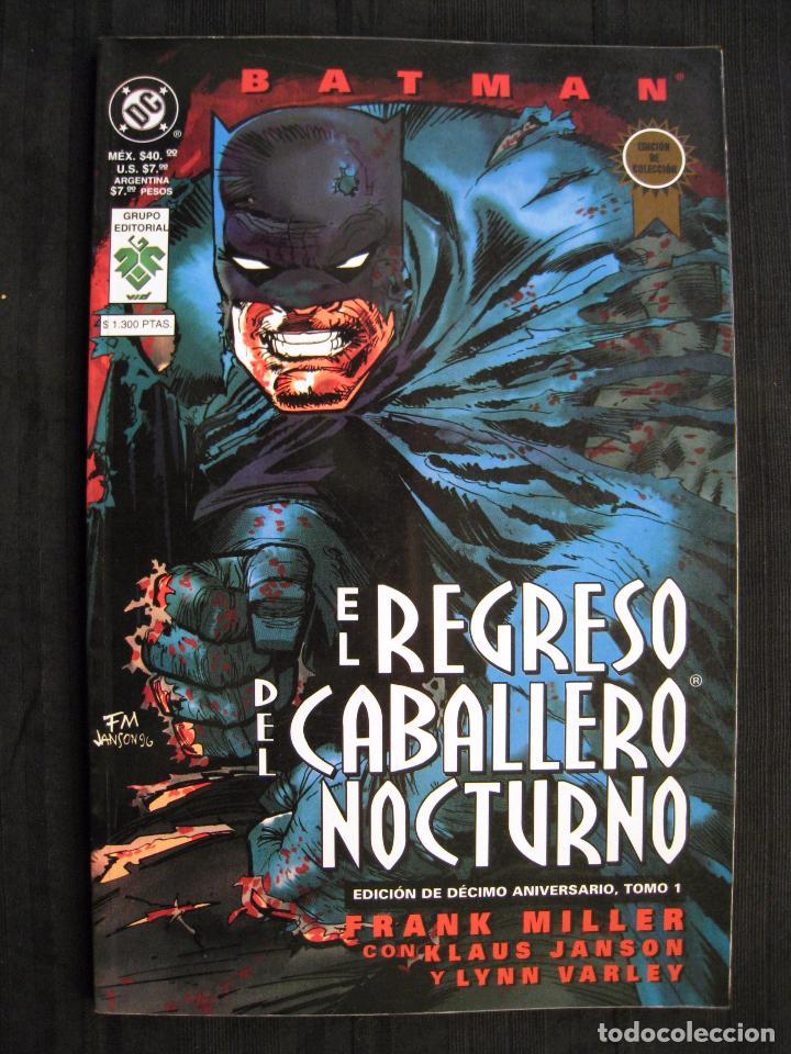 Cómics: BATMAN - EL REGRESO DEL CABALLERO NOCTURNO - TOMO 1 - EDITORIAL VID. - Foto 2 - 74992163