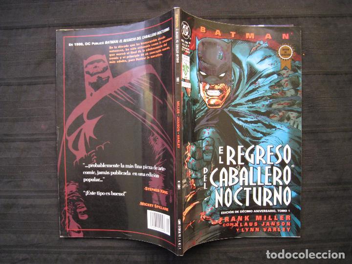 Cómics: BATMAN - EL REGRESO DEL CABALLERO NOCTURNO - TOMO 1 - EDITORIAL VID. - Foto 3 - 74992163