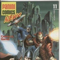 Cómics: PANINI COMICS NEWS NUMERO 11. Lote 55445001