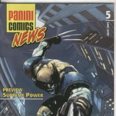 Cómics: PANINI COMICS NEWS NUMERO 05. Lote 55461361