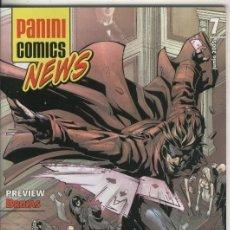 Cómics: PANINI COMICS NEWS NUMERO 07. Lote 55461363