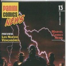 Cómics: PANINI COMICS NEWS NUMERO 13. Lote 56477346