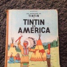 Cómics: LAS AVENTURAS DE TINTIN - TINTIN EN AMERICA , EDT JUVENTUD, 2 EDICION 1969. Lote 75253547