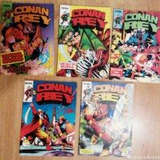 Cómics: CONAN REY NOS 7, 12, 13, 14, 15. Lote 75435806