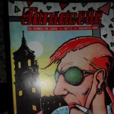 Cómics: PANIACEITE, EL CÓMIC DE JAÉN, NÚMERO 1, 1986. Lote 75500775