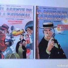 Cómics: EL AGENTE DE LA NATIONAL Nº 9-10 / ED. BRUGUERA 1986 / SCHIAFINO / SIN USAR. Lote 149685988
