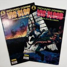 Cómics: VIC & BLOOD COMPLETA 2 TOMOS RICHARD CORBEN Y HARLAN ELLISON. Lote 75926875