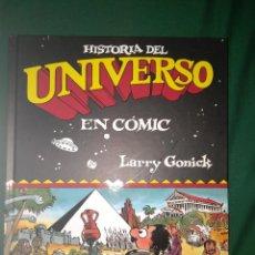 Cómics: LA HISTORIA DEL UNIVERSO EN COMIC - GRAN FORAMTO LARRY GONICK. Lote 75936235