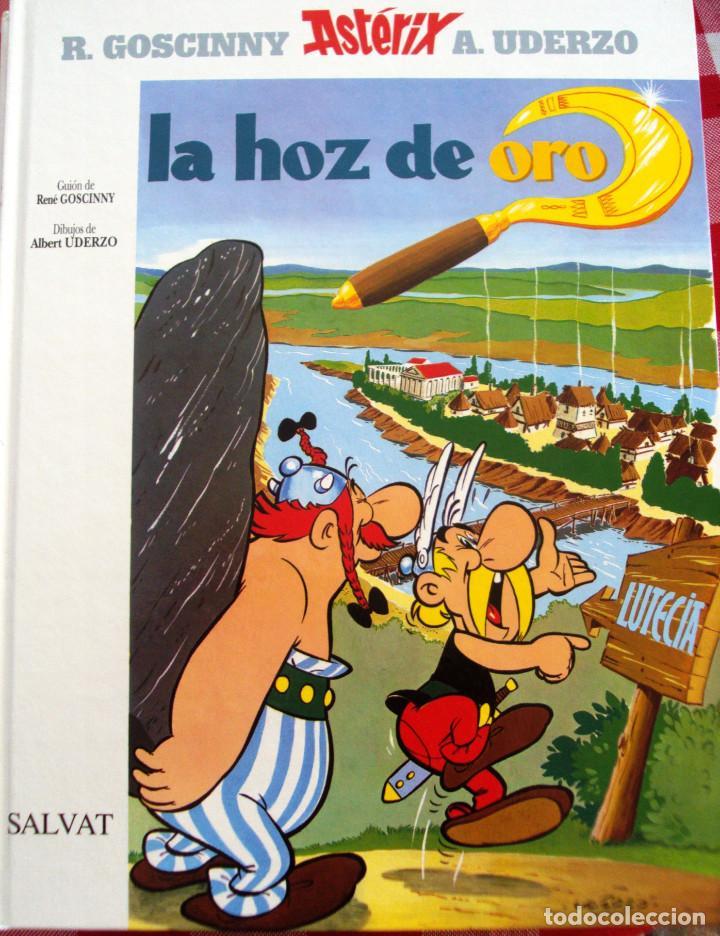 COMIC ASTERIX Y LA HOZ DE ORO EDITORIAL SALVAT TAPAS DURAS NUM 2 (Tebeos y Comics - Comics otras Editoriales Actuales)