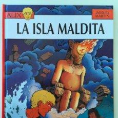 LAS AVENTURAS DE ALIX 3 LA ISLA MALDITA - NETCOM2 EDITORIAL - PRIMERA EDICIÓN NUMERADA MARZO 2010