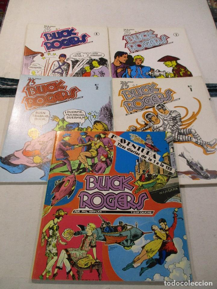 COLECCION COMPLETA BUCK ROGERS 5 TOMOS COMPLETA,EDITOR ESTEVE,TIRADA LIMITADA. (Tebeos y Comics - Comics Colecciones y Lotes Avanzados)