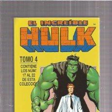 Cómics: INCREIBLE HULK RETAPADO 4. Lote 76587603