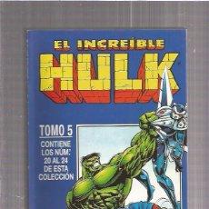 Cómics: INCREIBLE HULK RETAPADO 5. Lote 76589603