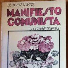 Cómics: MANIFIESTO COMUNISTA.DIBUJADO POR RO MARCENARO.TUSQUETS EDITOR.1976.BARCELONA. Lote 76674647