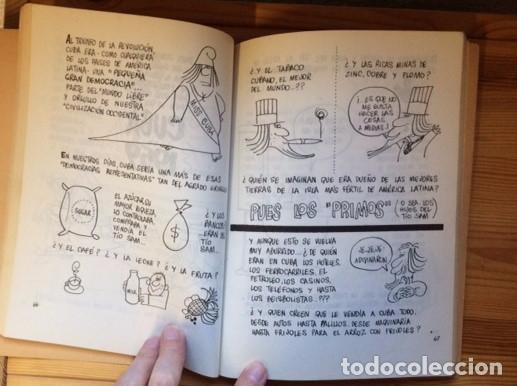 Cómics: Cuba para principiantes.Rius.Ediciones de cultura popular.Impreso en Mexico.1966 - Foto 3 - 76675891
