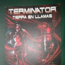 Cómics: COMIC TERMINATOR TIERRA EN LLAMAS TOMO, ALEIX ROSS TOMO UNICO NUEVO. Lote 77107881