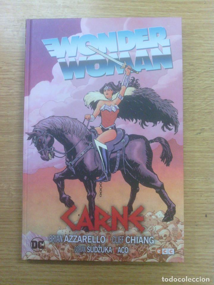WONDER WOMAN #4 CARNE (ECC EDICIONES) (Tebeos y Comics - Comics otras Editoriales Actuales)