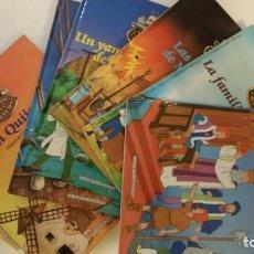Cómics: COLECCION COMPLETA CLASICOS DE LA AVENTURA 36 TOMOS PLANETA AGOSTINI. Lote 78272333