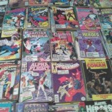 Cómics: RETAPADOS SPIDERMAN, BATMAN, SUPERMAN, HULK Y MUCHOS MÁS. Lote 78308229