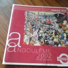 Cómics: ANGULEME 2002. CATALOGO DE PRESS KIT. EN FRANCÉS. GRAPA. BUEN ESTADO. RARO.. Lote 78399617