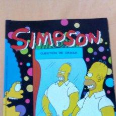 Cómics: LOS SIMPSON CUESTION DE GRASA. Lote 79105041
