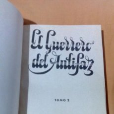 Cómics: TOMO ENCUADERNADO EL GUERRERO DEL ANTIFAZ TOMO 2 EDITORIAL VALENCIANA 1973 MANUEL GRAPO. Lote 79106277