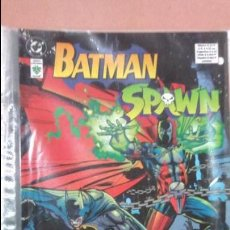 Cómics: SPAWN BATMAN GUERRA DIABOLICA WORLD DEVIL TOMO NUEVO. Lote 79108213