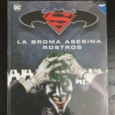 Cómics: BATMAN Y SUPERMAN. LA BROMA ASESINA Y ROSTROS (COLECCIÓN NOVELAS GRÁFICAS 4) - ECC. Lote 154801429