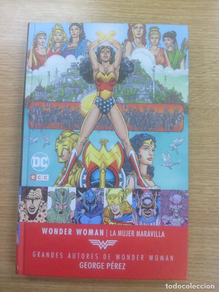 WONDER WOMAN LA MUJER MARAVILLA (GRANDES AUTORES DE WONDER WOMAN - GEORGE PEREZ #1) (ECC EDICIONES) (Tebeos y Comics - Comics otras Editoriales Actuales)
