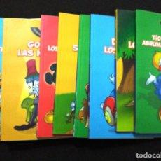 Cómics: DISNEY SERIE ORO. BIBLIOTECA EL MUNDO. 10 TOMITOS. Lote 79947193