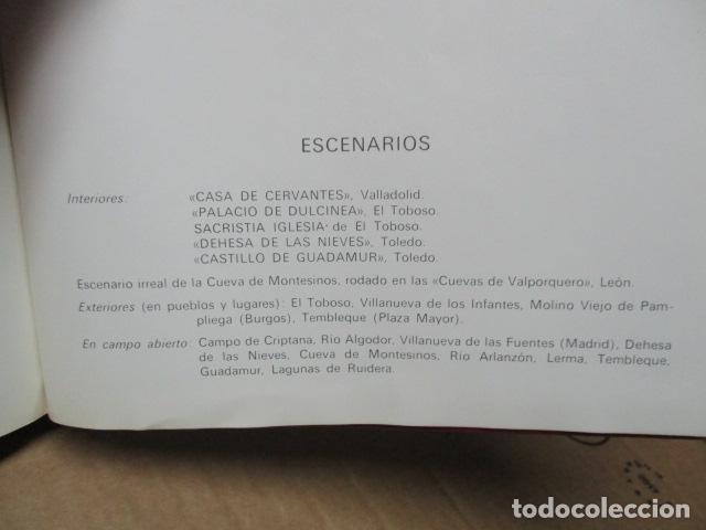 Cómics: DON QUIJOTE DE LA MANCHA-MIGUEL DE CERVANTES-EDICIONES NARANCO-1972-TOMO 3 - Foto 8 - 80336305