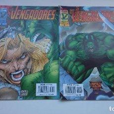 Cómics: LOTE LOS VENGADORES - LOS VENGADORES HEROES REBORN. Lote 80405029