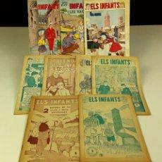 Cómics: REVISTA ELS INFANTS. 9 EJEMPLARES.(VER DESCRIPCIÓN). JORGE PARENTI. H. DE EDICIONES. AÑOS 1950.. Lote 80955708